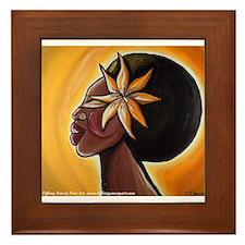 Ebony Framed Tile
