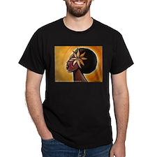 Ebony Black T-Shirt