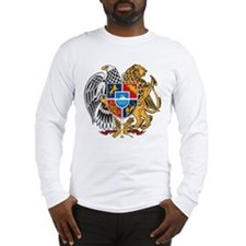 Armenian Coat of Arms Long Sleeve T-Shirt