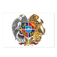 Armenian Coat of Arms Postcards (Package of 8)
