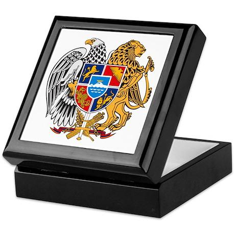 Armenian Coat of Arms Keepsake Box