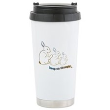 keep on thumpin' Travel Mug