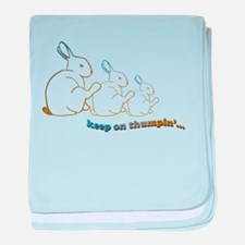 keep on thumpin' Infant Blanket
