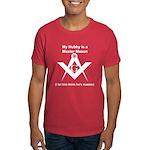 Masonic Hubby Master? Unisex Dark T-Shirt