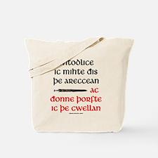 Top Secret Anglo-Saxon Tote Bag