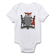 Zambia Coat of Arms Infant Creeper