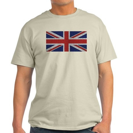 Union Jack British Flag Light T-Shirt