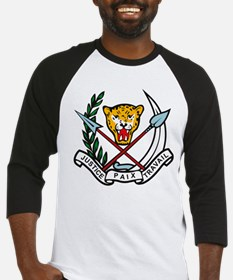 Zaire Coat of Arms Baseball Jersey