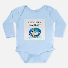 funny chemistry jokes Long Sleeve Infant Bodysuit