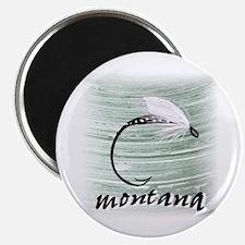 Montana Fly Fishing Magnet