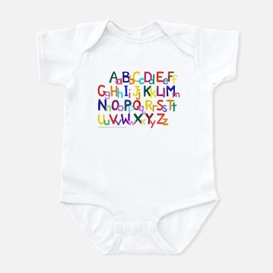 Alphabet Infant Bodysuit