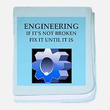 funny engineer joke Infant Blanket