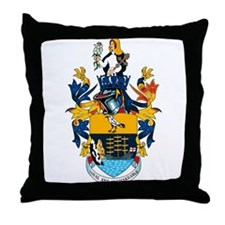 St. Helena Coat of Arms Throw Pillow