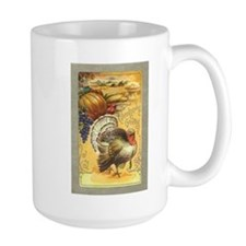 Vintage Thanksgiving design Mug