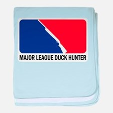 Major League Duck Hunter Infant Blanket