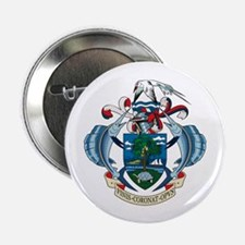 """Seychelles Coat of Arms 2.25"""" Button (10 pack)"""