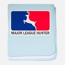 Major League Hunter Infant Blanket