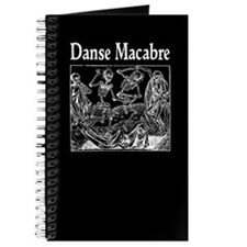 Danse Macabre Blank Book