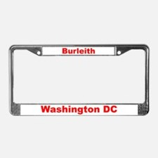Burleith License Plate Frame