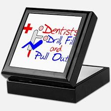 Dentists Drill Keepsake Box