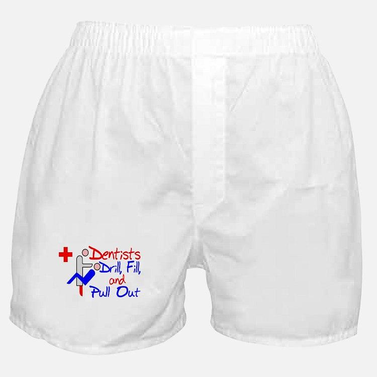 Dentists Drill Boxer Shorts