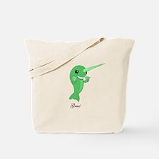 Greed Narwhal Tote Bag