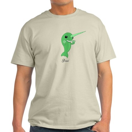 Greed Narwhal Light T-Shirt