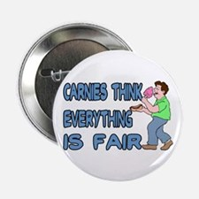"""Carnies Think 2.25"""" Button"""