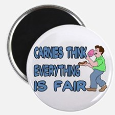 "Carnies Think 2.25"" Magnet (100 pack)"
