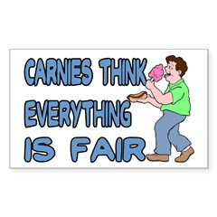 Carnies Think Decal