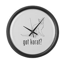 Korat Large Wall Clock