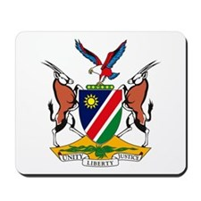 Namibia Coat of Arms Mousepad