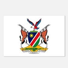 Namibia Coat of Arms Postcards (Package of 8)