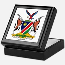 Namibia Coat of Arms Keepsake Box