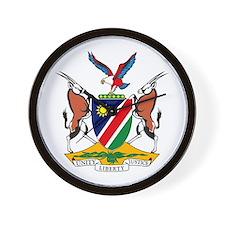 Namibia Coat of Arms Wall Clock