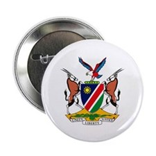 "Namibia Coat of Arms 2.25"" Button (10 pack)"