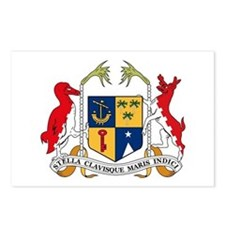 Mauritius Coat of Arms Postcards (Package of 8)