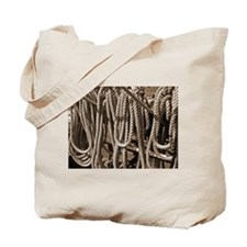 Ropes for the Rigging SEPIA Tote Bag