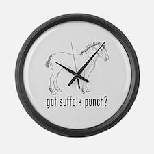 Suffolk Punch Large Wall Clock