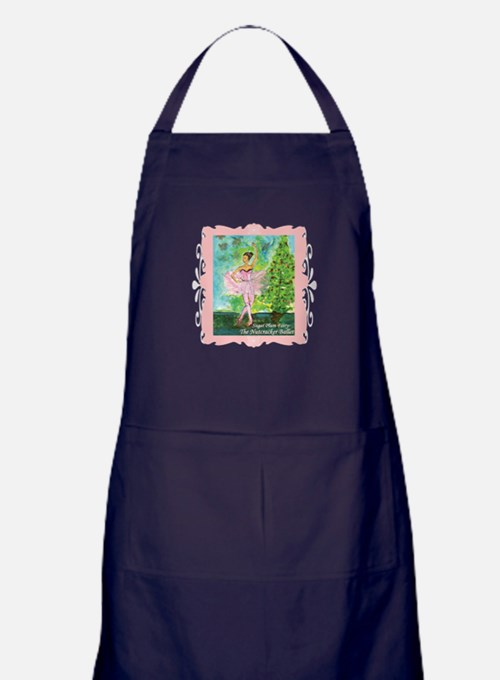 Sugar Plum Fairy Apron (dark)