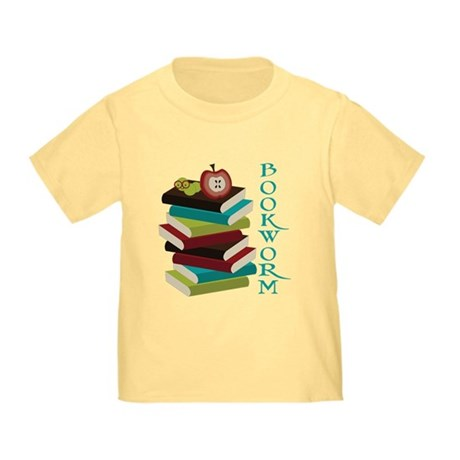 Stylish Bookworm Toddler T-Shirt