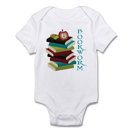 Stylish Bookworm Infant Bodysuit