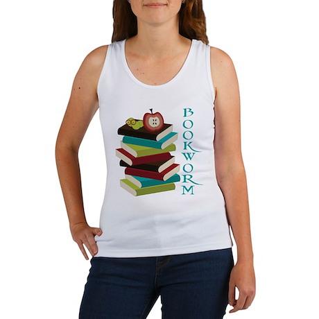 Stylish Bookworm Women's Tank Top