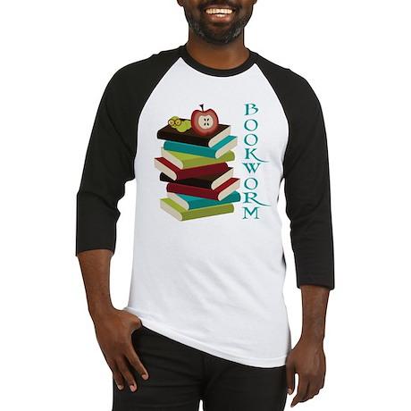 Stylish Bookworm Baseball Jersey