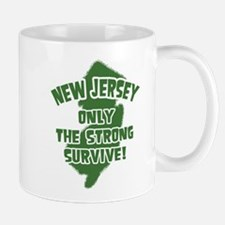 New Jersey Only the Strong Survive Mug