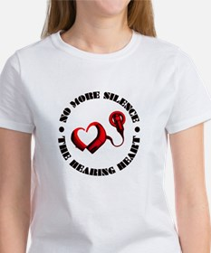 The Hearing Heart with No More Silence T-Shirt