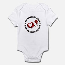 The Hearing Heart with No More Silence Body Suit