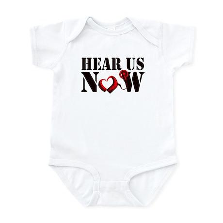 Hear Us Now Infant Bodysuit