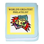 philatelist gifts t-shirts Infant Blanket