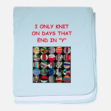 knitting Infant Blanket